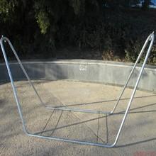 吊床支vi特价加厚钢ax漆折叠架多功能户外室内创意吊床架直销