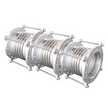 金属节vidn150la道补偿器波纹304不锈钢伸缩法兰节式