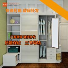 衣柜镜vn推拉镜旋转m1折叠伸缩试衣镜穿衣镜全身镜子壁挂落地