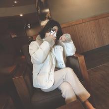 冬装2vn20年新式os羽绒棉服女装短式(小)棉衣面包服加厚棉袄外套