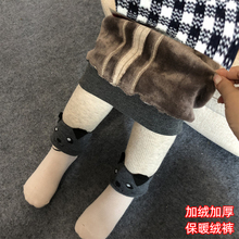 宝宝加vo裤子男女童al外穿加厚冬季裤宝宝保暖裤子婴儿大pp裤
