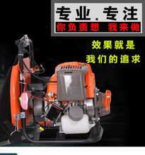 新式5vo0瓦汽油机ey大功率发电机户外背负式疝气灯野外照明机