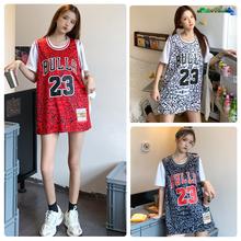 篮球背心女23号乔丹公牛vo9运动球衣er款嘻哈情侣男女款班服