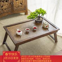 泰国桌vo支架托盘茶tf折叠(小)茶几酒店创意个性榻榻米飘窗炕几