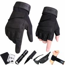 [votf]健身半指手套男秋冬季特种