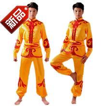 男士龙舟c表演服装打鼓服饰中老年秧vo14舞蹈服ag歌演出衣