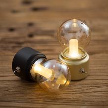 复古灯vo灯 创意英agSB充电(小)夜灯 led节能迷你床头氛围台灯