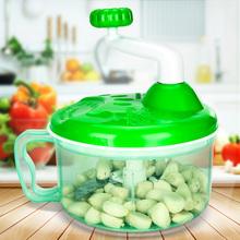 家用多vu能切菜器手lo子馅碎蒜泥绞肉机搅菜搅拌搅蒜厨房神器