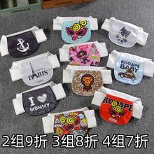 潮牌婴vw童纯棉 宝nb纱布垫背巾 4层6层2-3-4-7岁