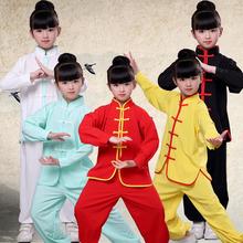 儿童武术服装夏季短袖套装