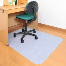 日本进w6书桌地垫木64子保护垫办公室桌转椅防滑垫电脑桌脚垫
