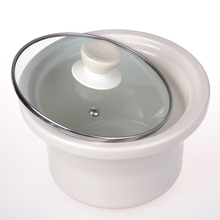 通用内wa炖锅玻璃盖ky白瓷0.7L1.5L2.5L3.5L45升锅胆紫砂陶瓷