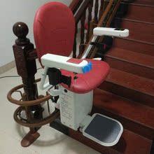 曲线座wa 家用别墅ke无障碍代步升降椅老的爬楼机