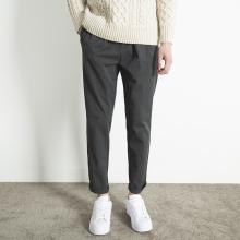 [waneo]简质男装秋季韩版潮流商务休闲西裤