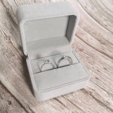 结婚对wa仿真一对求an用的道具婚礼交换仪式情侣式假钻石戒指