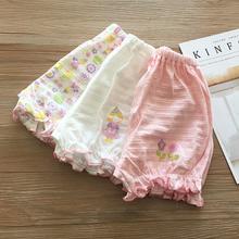 女童夏wa薄式宽松短rd裤