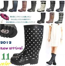 雨鞋女时尚款wa3穿长筒雨re暖棉雨鞋防雨套防滑水鞋加绒套