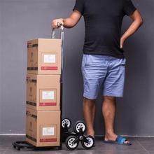 高档折wa学生家叠搬er饮水机桶手拉车折叠轮子爬楼行李箱奢华