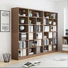 书柜书wa落地简易客ap组合家用学生简约现代收纳储物柜置物架