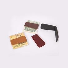 韩款创意磁wd2钞票夹子sc随身钱夹欧美钱包超薄支票票据夹子