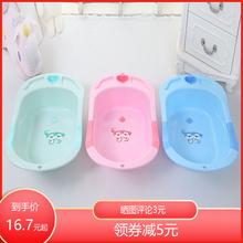 厂家直wd宝宝洗澡盆ze盆坐躺两用新生儿用品悬浮垫