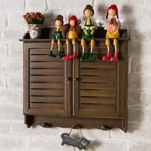 电表箱we款遮挡横落re窗户对电信箱木制竖式多媒体钥匙挂钩