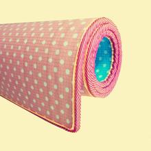 定做爬we垫宝宝加厚de纯色双面回纹家用泡沫地垫游戏毯