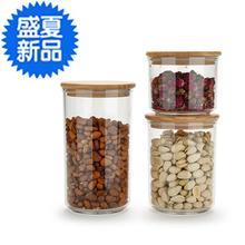 储物罐we密封罐杂粮ou璃瓶子 透明亚克力g厨房塑料茶叶罐保鲜