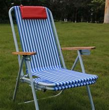 尼龙沙we椅折叠椅睡ik折叠椅休闲椅靠椅睡椅子