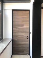 厂家直we摩卡纹木门uo室门室内门实木复合生态门免漆门定制门