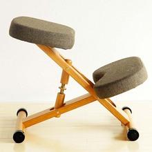 北欧矫we学习电脑椅ts降工学防驼背跪椅正姿椅子