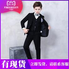 inmweopinira2020新式男童西装大童钢琴演出服主持西服宝宝走秀