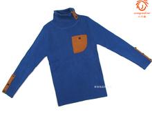 童装男wf0毛衣冬装dw童男孩时尚修身高领羊绒线衫毛衣正品