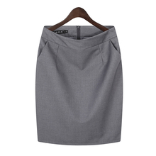职业包wg包臀半身裙qq装短裙子工作裙西装裙黑色正装裙一步裙