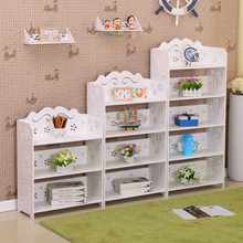 简易儿wg书柜学生书qq置物架客厅落地组合现代简约收纳储物柜