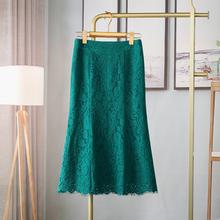 水溶蕾wh包臀裙显瘦re2021春夏新式韩款中长式半身裙女