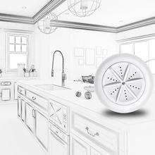 免安装wh自动家用(小)re台式超声波水槽面盆刷碗智能