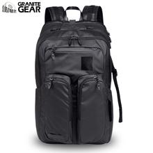 花岗岩wh务旅行双肩mo户外运动背包大容量休闲轻便防水电脑包
