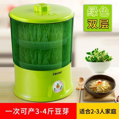生豆芽wh机大容量绿cp发芽率双层机器大容量绿豆种