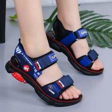 202wh新式夏季(小)sh鞋中大童皮凉鞋宝宝宝宝软底凉鞋子