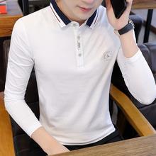 正品轩尧耐克泰男士Powi8o衫20ke季韩款修身长袖T恤青少年个性
