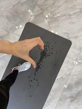 初级天wi橡胶瑜伽垫li滑垫专业健身运动垫达瑞永吉