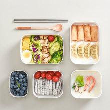 保鲜盒wi封盒冰箱专li食品收纳盒可微波炉加热便当盒带盖饭盒
