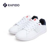 RAPwiDO 雳霹li季情侣式男女时尚舒适低帮运动(小)白鞋休闲鞋