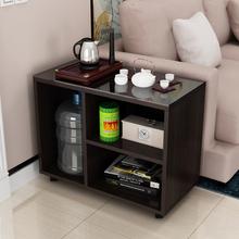 烧水边wi迷你(小)茶几li茶柜可移动边柜茶桌(小)户型功夫茶桌桌子