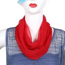 夏季薄wi围脖女套头li妈妈式百变披肩网红(小)丝巾防晒围巾护颈