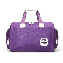 韩款大wi量旅行袋手es包可包行李包女防水旅游包男