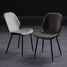 餐椅北wi家用现代简es椅子靠背轻奢洽谈化妆椅餐厅凳子