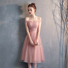 伴娘服wj长式202mk显瘦韩款粉色伴娘团姐妹裙夏礼服修身晚礼服