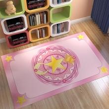 百变(小)wk魔法阵地毯hl边飘窗可爱美少女心粉网红房间装饰拍照